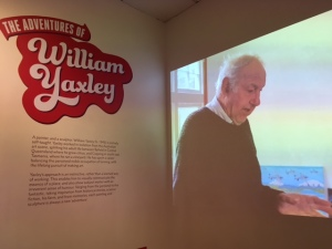 William Yaxley interview video, developed by Rockhampton Art Gallery